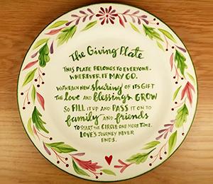Pleasanton The Giving Plate