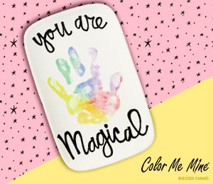 Pleasanton Rainbow Handprint