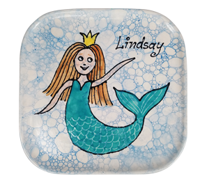 Pleasanton Mermaid Plate
