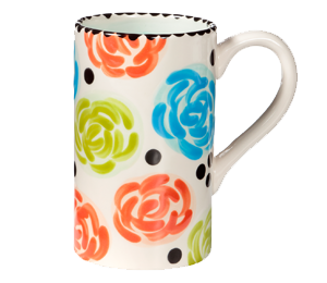 Pleasanton Simple Floral Mug