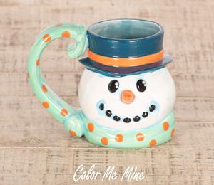 Pleasanton Snowman Mug