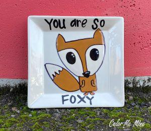 Pleasanton Fox Plate