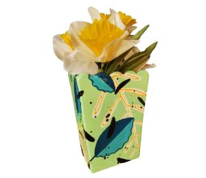 Pleasanton Leafy Vase