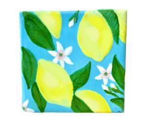 Pleasanton Lemon Square Tile