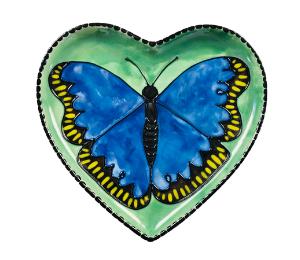 Pleasanton Butterfly Plate