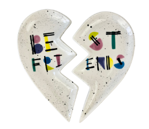 Pleasanton Best Friends Plate Set